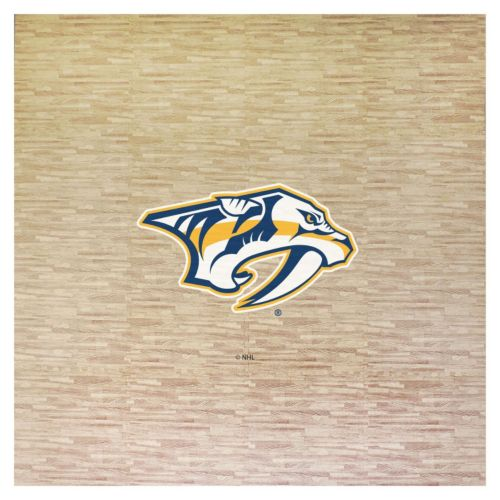 Nashville Predators 8' x 8' Portable Tailgate Floor