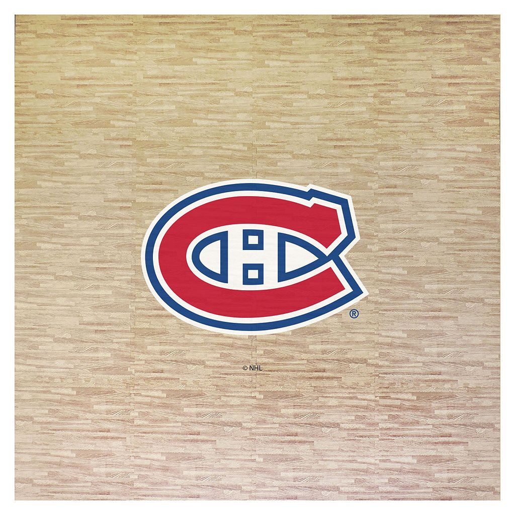 Montreal Canadiens 8' x 8' Portable Tailgate Floor