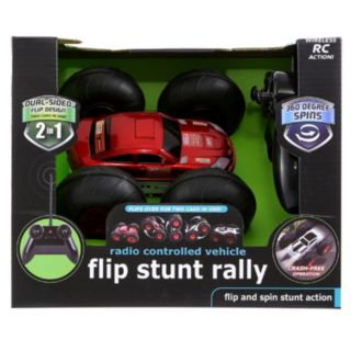 Black Series Flip Stunt Fury Remote Control Action Vehicle