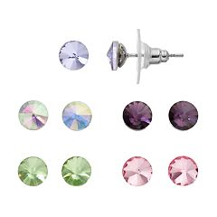 Apt. 9® Colorful Stud Earring Set