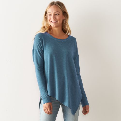 Women's SONOMA Goods for Life™ Asymmetrical Soft Tunic