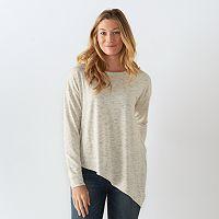 Women's SONOMA Goods for Life™ Asymmetrical Soft Tunic