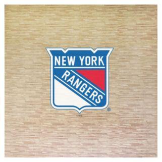 New York Rangers 8' x 8' Portable Tailgate Floor