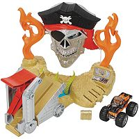 Hot Wheels Monster Jam Pirate Takedown Playset
