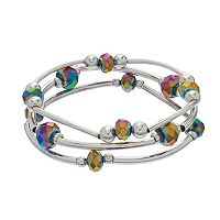 Apt. 9® Iridescent Beaded Stretch Bracelet Set