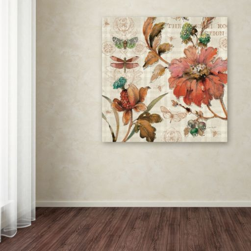 Trademark Fine Art French Country V Canvas Wall Art