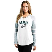 Women's Majestic Philadelphia Eagles Winning Style Tee
