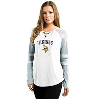 Women's Majestic Minnesota Vikings Winning Style Tee