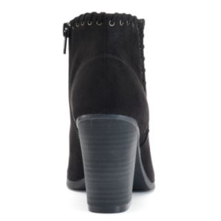 SO® Women's Whip-Stitch Ankle Boots