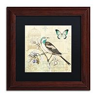 Trademark Fine Art Freedom II Wood Finish Framed Wall Art