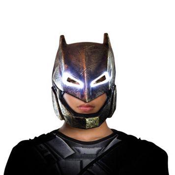 Adult Batman v Superman: Dawn of Justice Batman Armored Light-Up Costume Mask