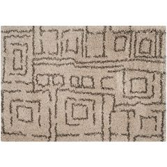 Safavieh Belize Tribal Geometric Shag Rug