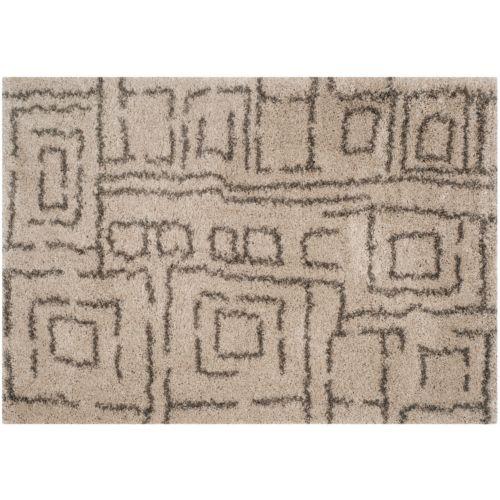 Safavieh Belize Tribal Geometric Shag Rug