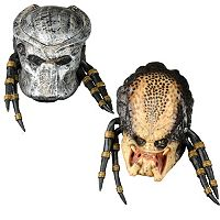 Adult Predator Deluxe Costume Mask with Removable Faceplate