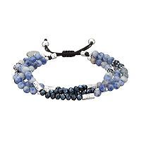 love this life Sodalite Beaded Multi Strand Bracelet