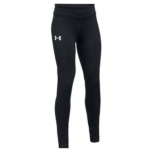 Girls 7-16 Under Armour Solid HeatGear Full-Length Leggings