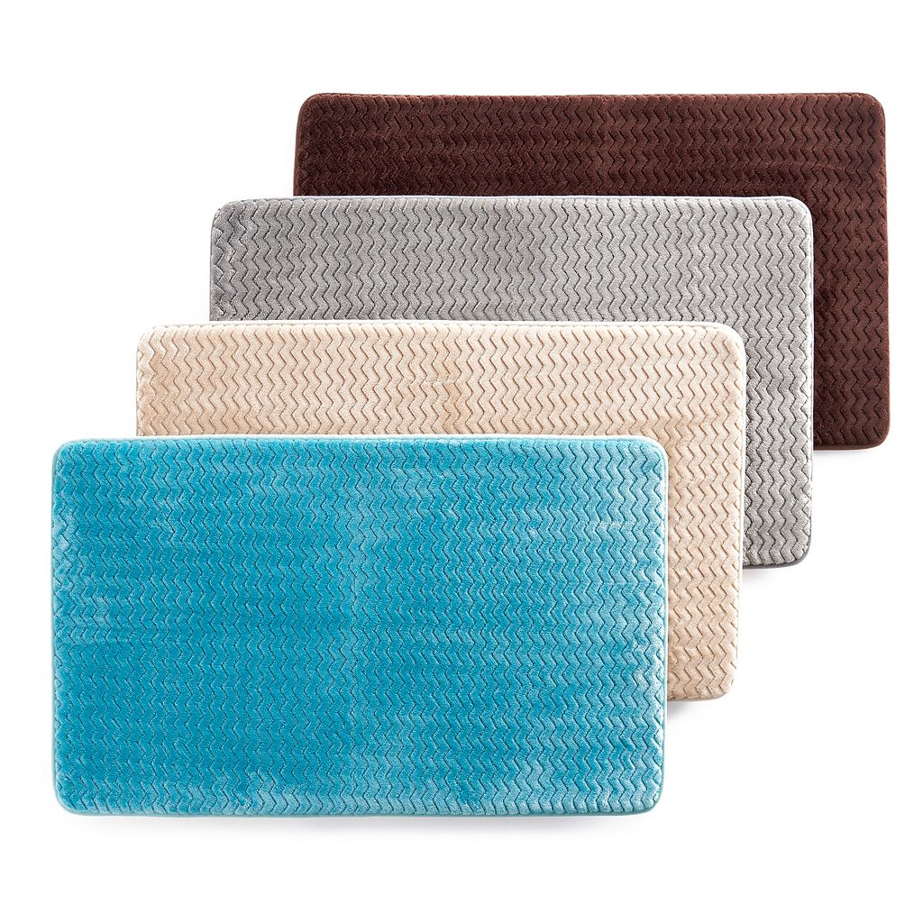 Mohawk® Home Wave Chevron Memory Foam Bath Rug - 20'' x 32''