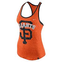 Women's Nike San Francisco Giants Marled Racerback Tank