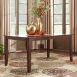HomeVance Ogden Extendable Parson Leg Dining Table