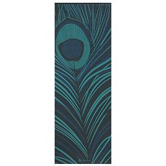 Gaiam 6mm Geo Feather Reversible Yoga Mat