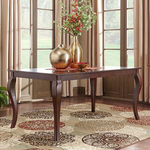 HomeVance Ogden Extendable Baluster Leg Dining Table