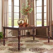 HomeVance Ogden Extendable Cabriole Leg Dining Table