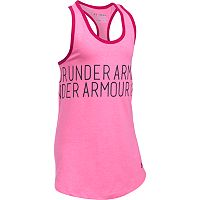 Girls 7-16 Under Armour Dazzle Wraparound Graphic Tank Top