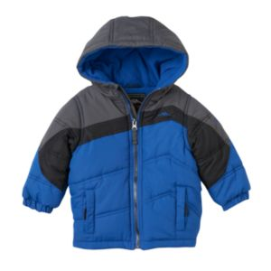 Baby Boy Pacific Trail Colorblock Hooded Puffer Jacket