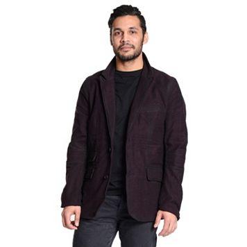 Men's Excelled Black Classic Tweed Blazer