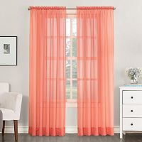 No918 Solid Voile Curtain