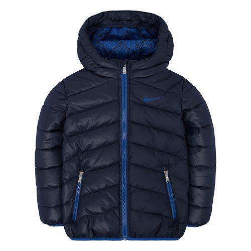 7f70b93df Toddler Boy Nike Hooded Puffer Jacket