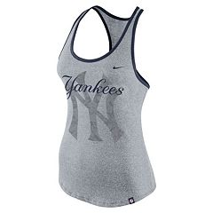 Women's Nike New York Yankees Marled Racerback Tank