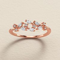 LC Lauren Conrad Runway Collection Cubic Zirconia Vine Ring