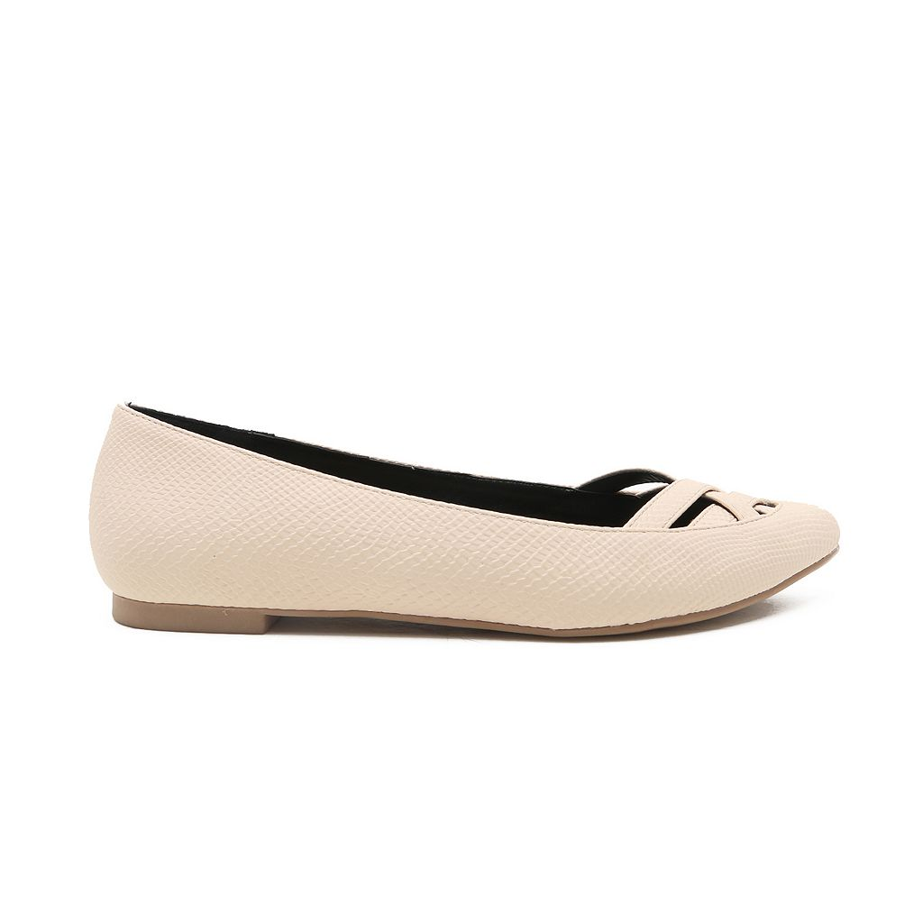 Qupid Swirl Women's Ballet Flats