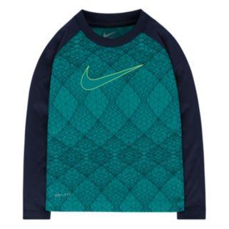 Boys 4-7 Nike Dri-FIT Geometric Raglan Tee
