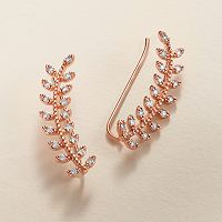 LC Lauren Conrad Runway Collection Branch Ear Climbers