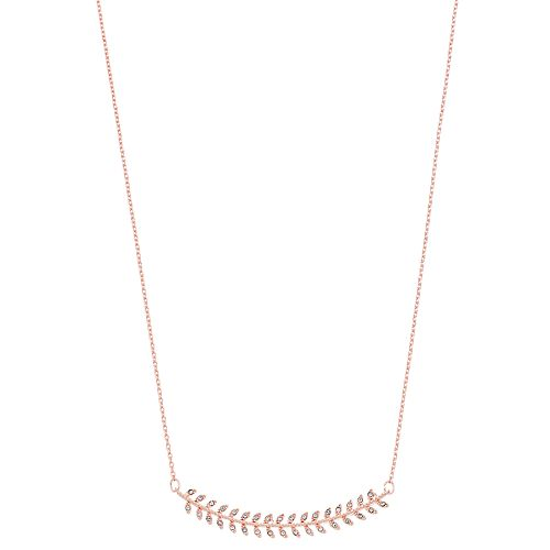 LC Lauren Conrad Curved Branch Necklace
