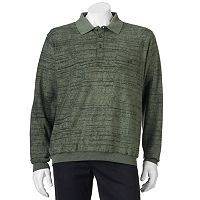 Men's Safe Harbor Classic-Fit Striped Banded-Bottom Polo