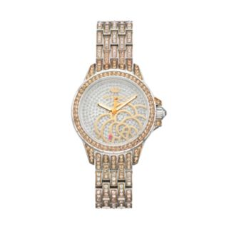 Juicy Couture Women's Charlotte Crystal Stainless Steel Watch