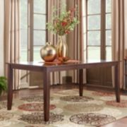 HomeVance Ogden Extendable Parson Leg Long Dining Table