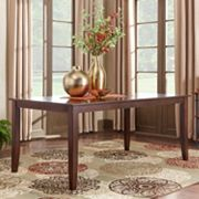 HomeVance Ogden Extendable Parson Leg Long Dining Table