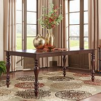 HomeVance Ogden Extendable Cabriole Leg Long Dining Table