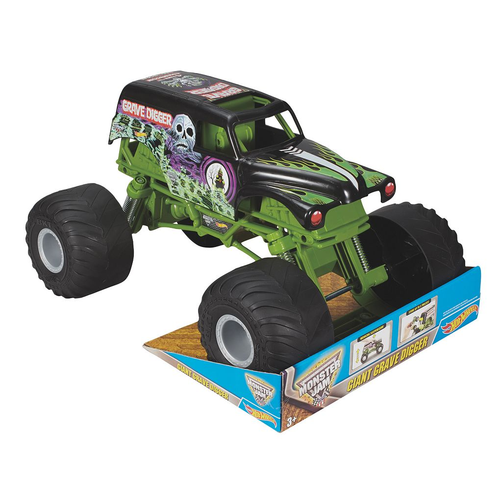 Hot Wheels Monster Jam Giant Grave Digger Truck