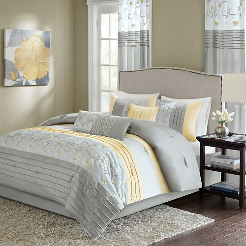 Madison Park Brighton 7-piece Comforter Set