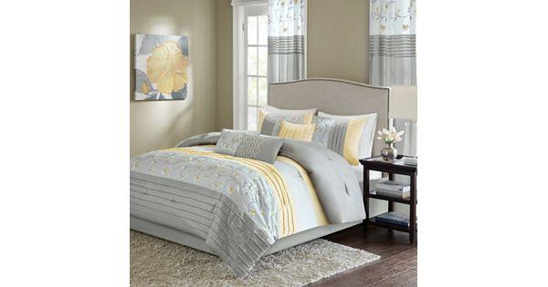 Madison Park Brighton 7 Piece Comforter Set