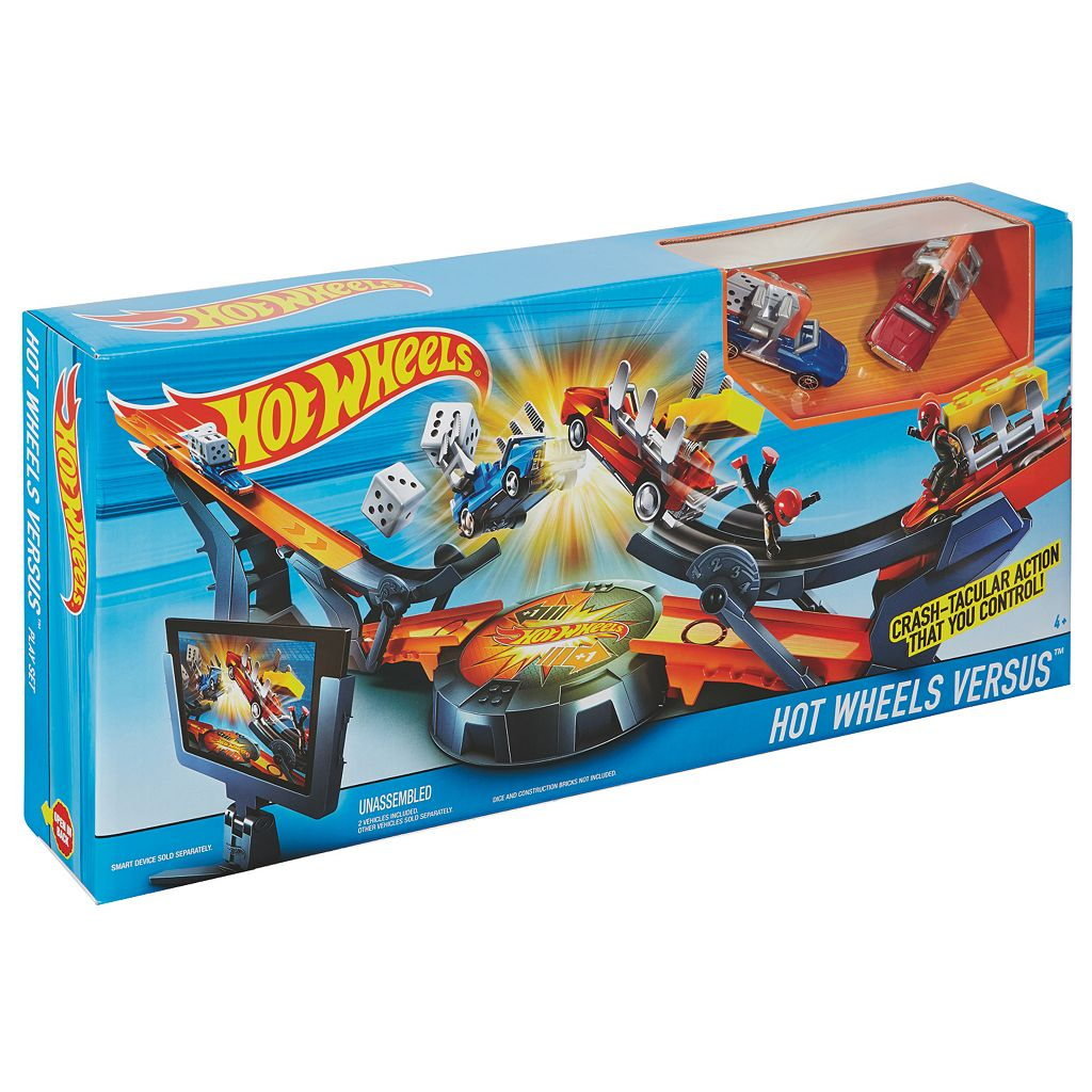 Hot Wheels Versus Track Set