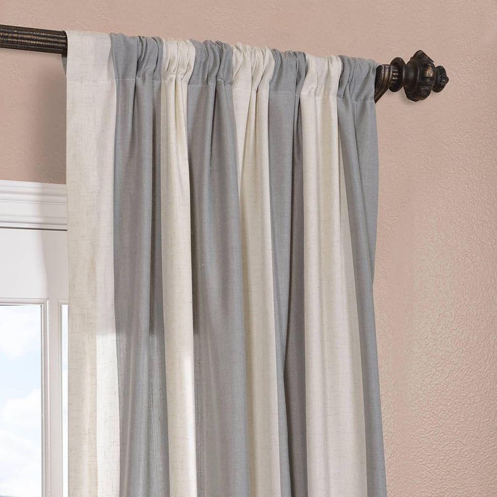 EFF Del Mar Stripe Window Curtain