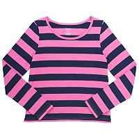 Girls 4-6x French Toast Striped Tee