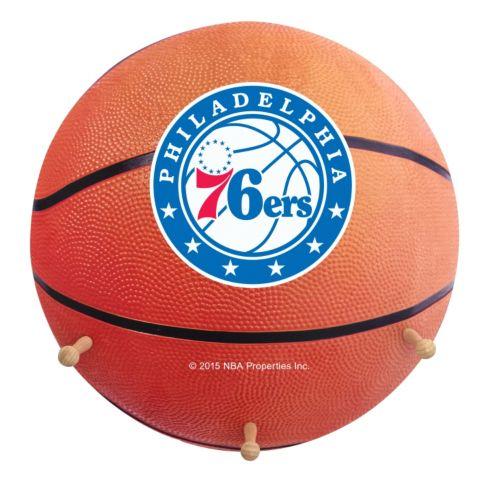 Philadelphia 76ers Basketball Coat Hanger