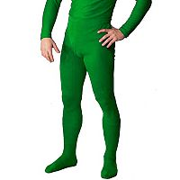 Adult Green Footed Costume Tights